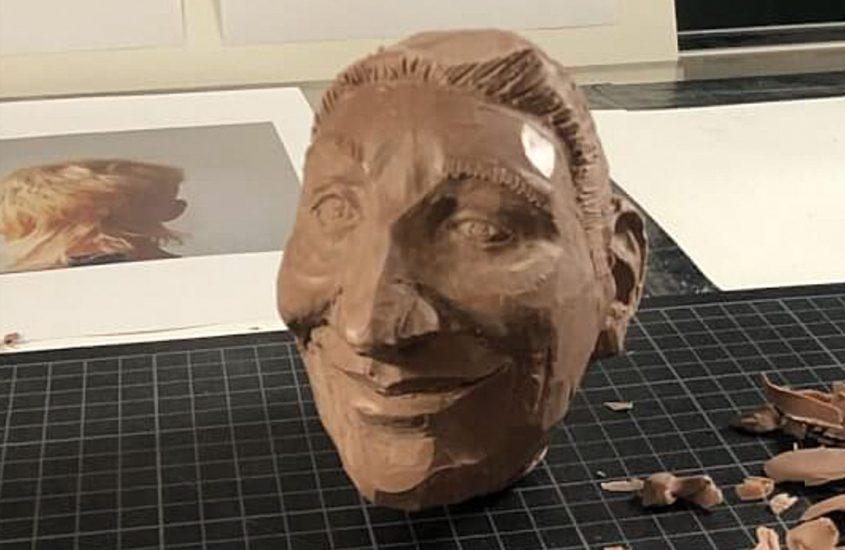 Gesicht modellieren