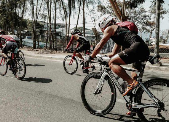 Athleten Laufen Triathlon Coaching
