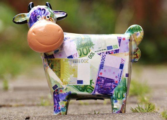 Geld Sparplan für Kinder Juniorsparplan Sparschwein
