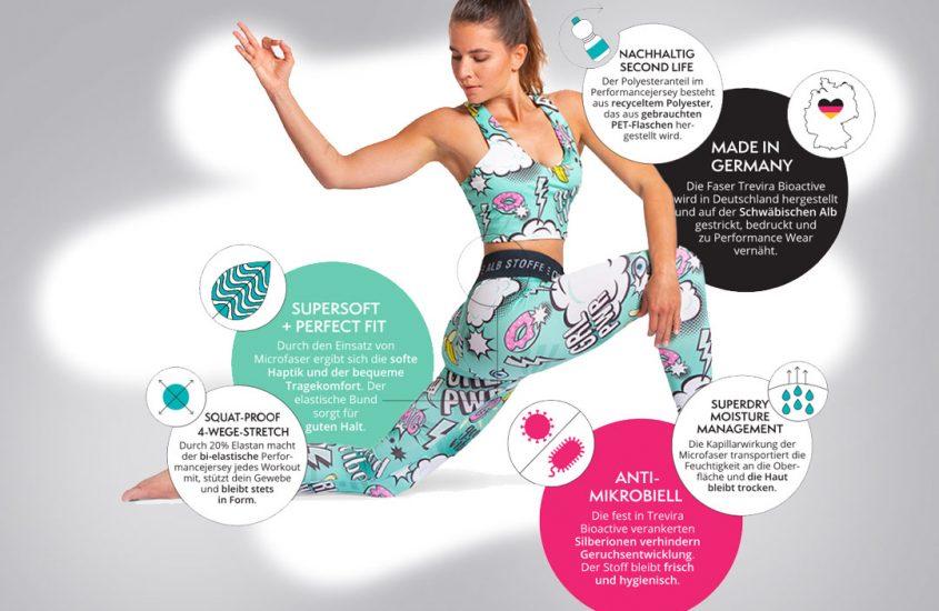Yoga- & Sportswear