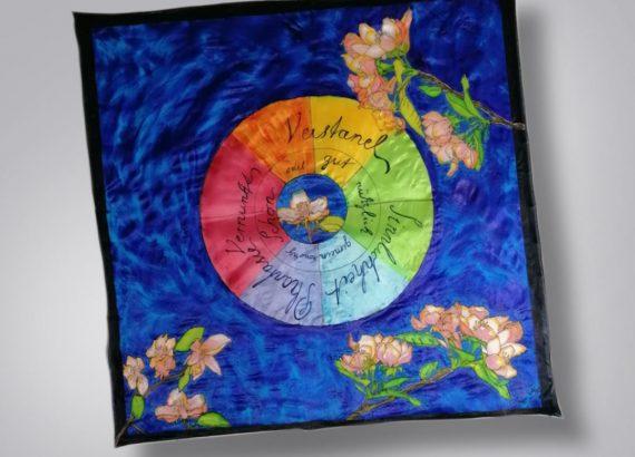 Seidenmalerei - Diese Kunst kann man lernen
