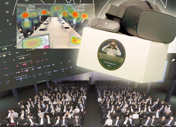Speaker auf Top-Niveau werden dank Virtual Reality